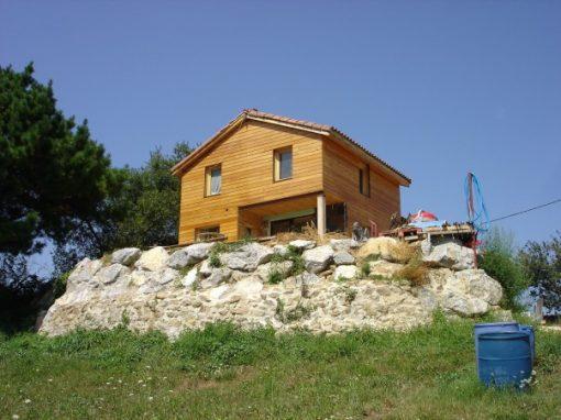 Santander – casa de lemn
