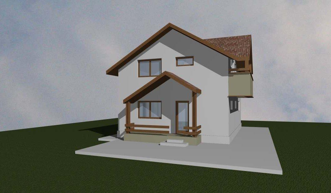 Casa cu 3 dormitoare