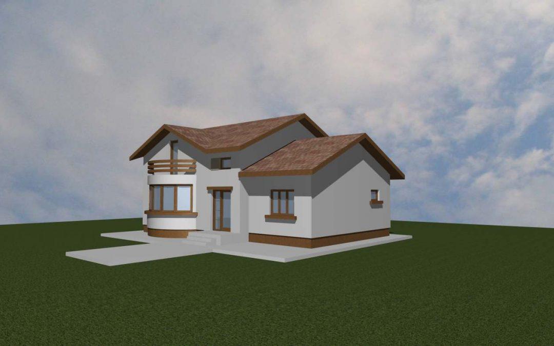 Casa cu garaj