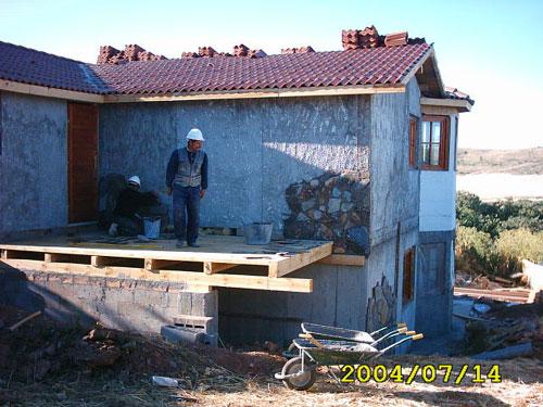 Poze case din lemn Burgos 1