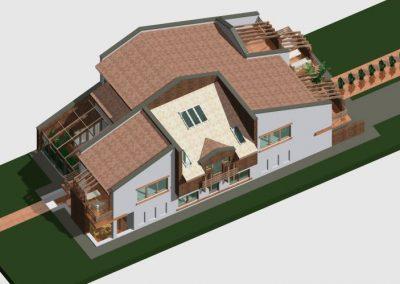 Proiect-casa-Craiova-400x284 PORTOFOLIU CASE PE STRUCTURA DIN LEMN