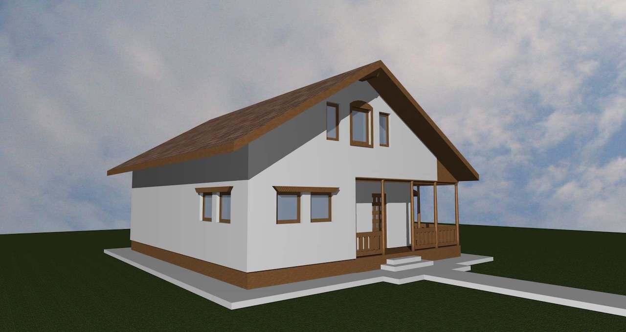 casa taraneasca - case de lemn - mobinstal 1