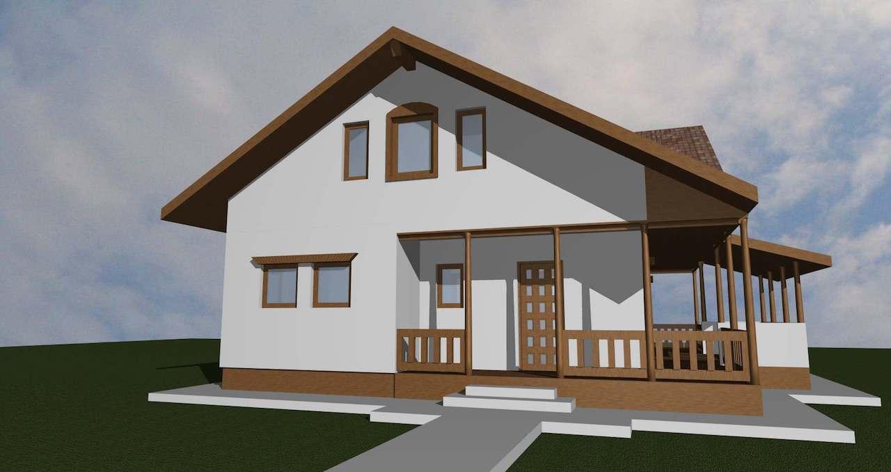 casa taraneasca - case de lemn - mobinstal 2