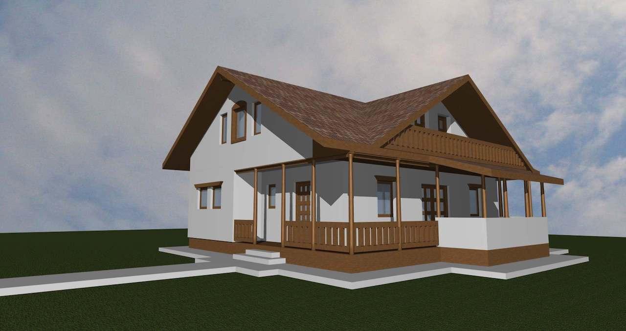 casa taraneasca - case de lemn - mobinstal 3