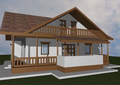 casa-taraneasca-case-de-lemn-mobinstal-4-400x284 Case din lemn Mobinstal