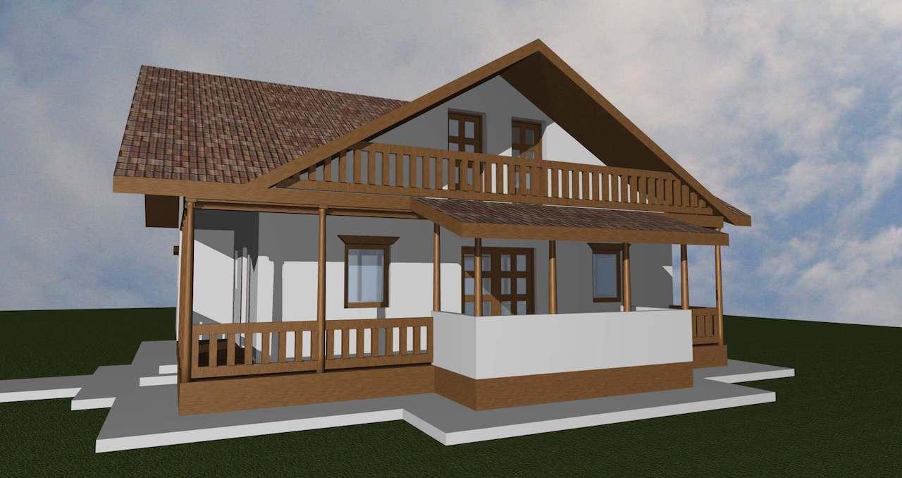casa taraneasca - case de lemn - mobinstal 4