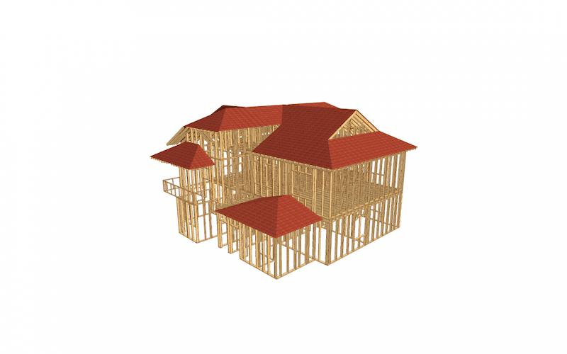 Casa 3 nivele