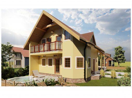 Casa Alfa 140m2